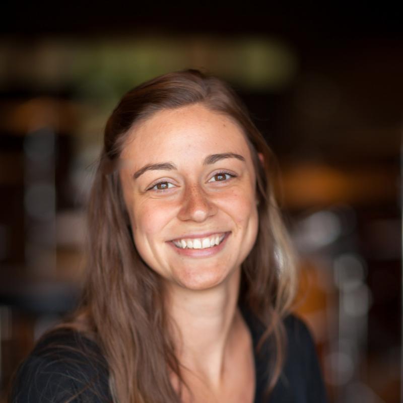 Portrait of Rachel Vallely