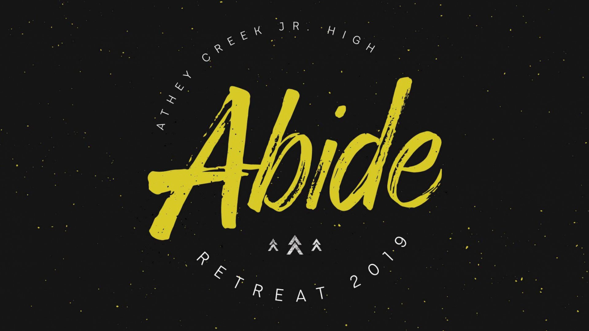 Poster for Abide Retreat