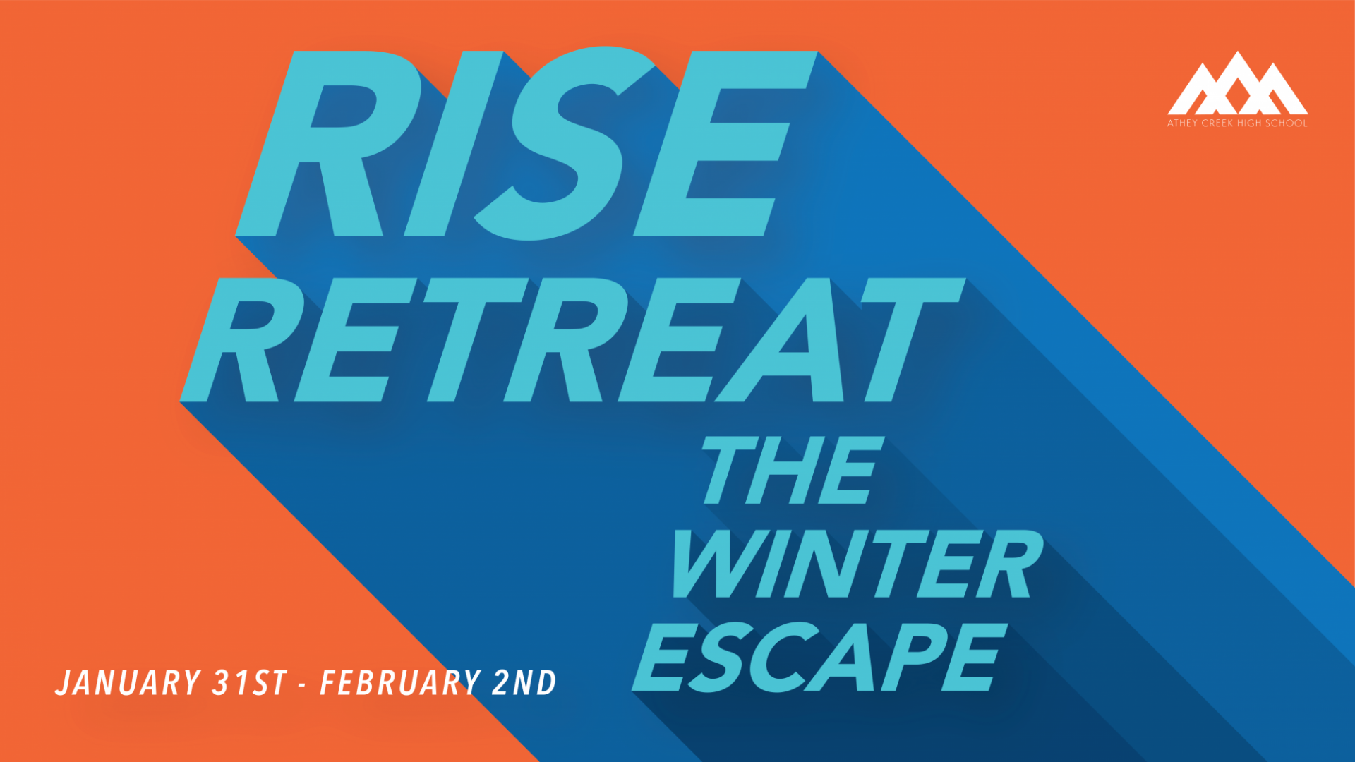 Poster for Rise Retreat: The Winter Escape