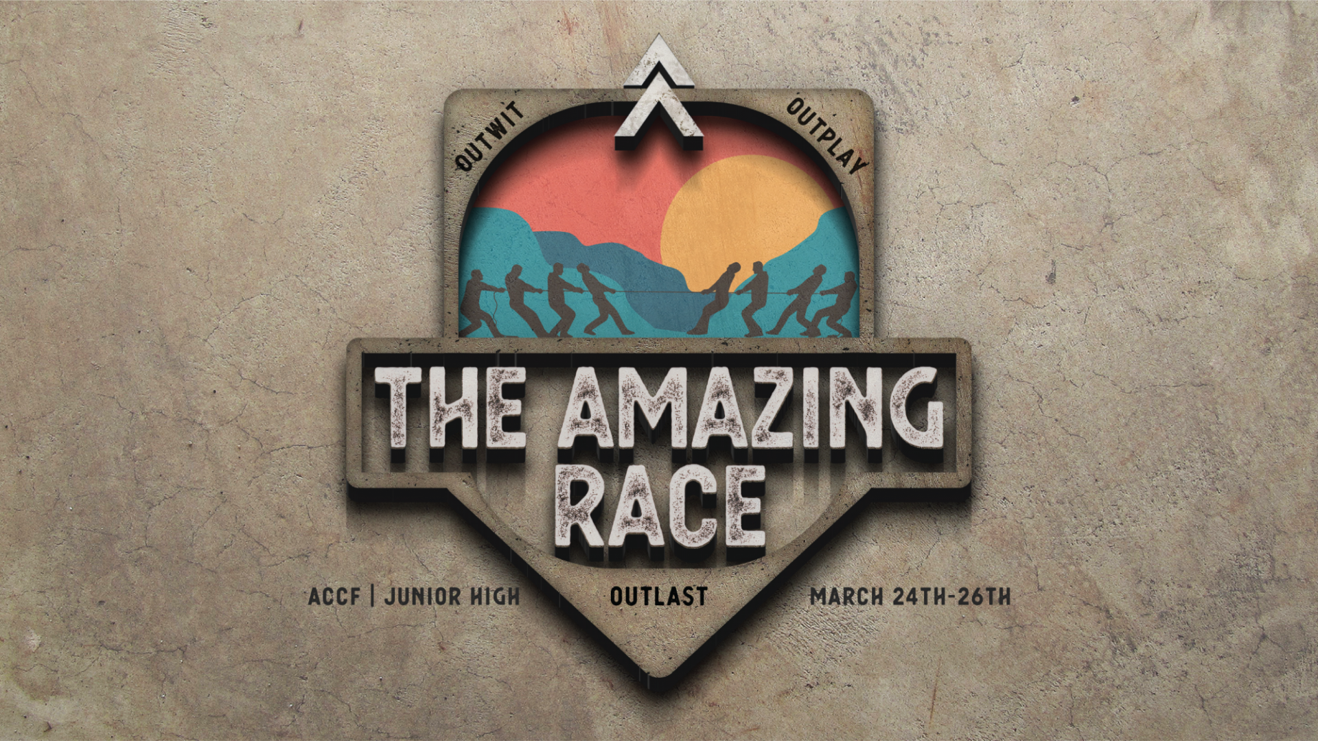 Poster for The Amazing Race