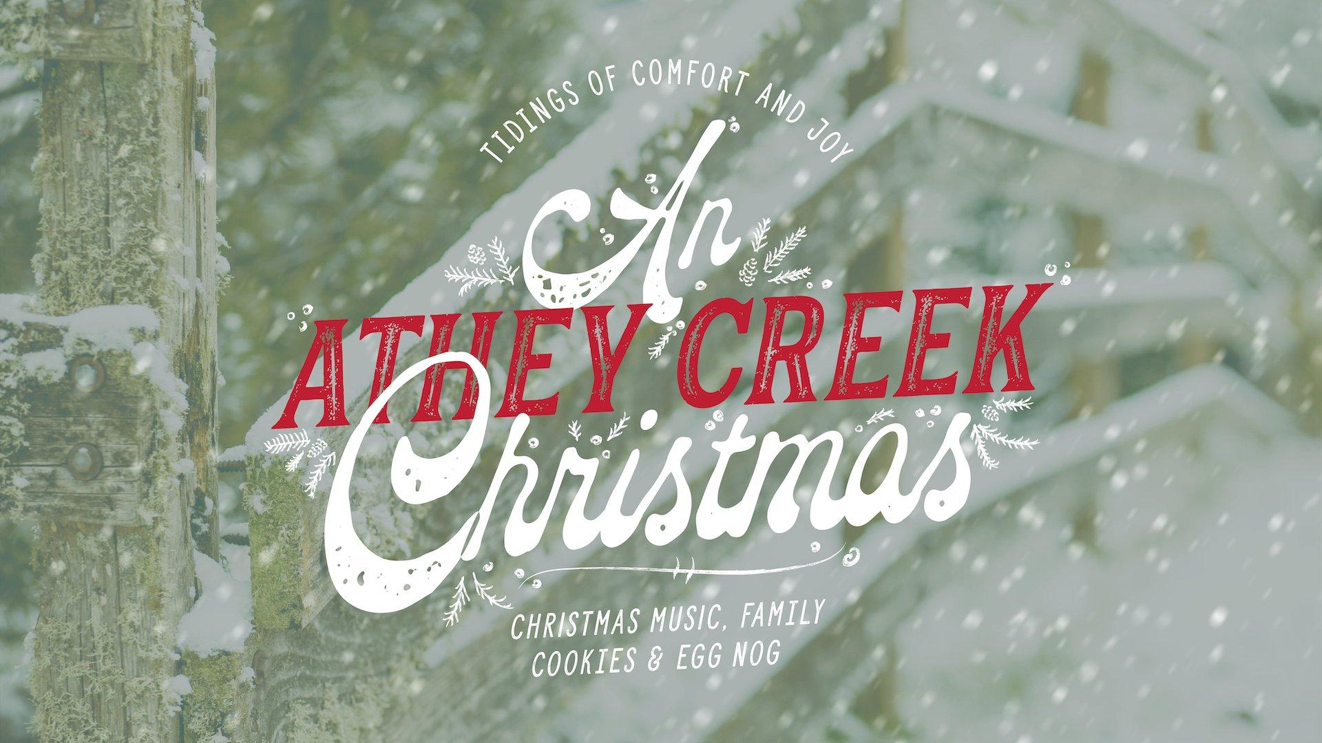 Poster for An Athey Creek Christmas