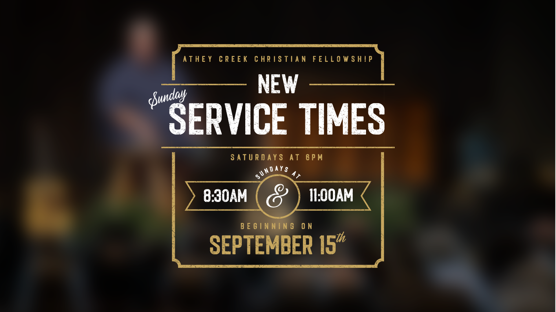 Poster for New Service Times