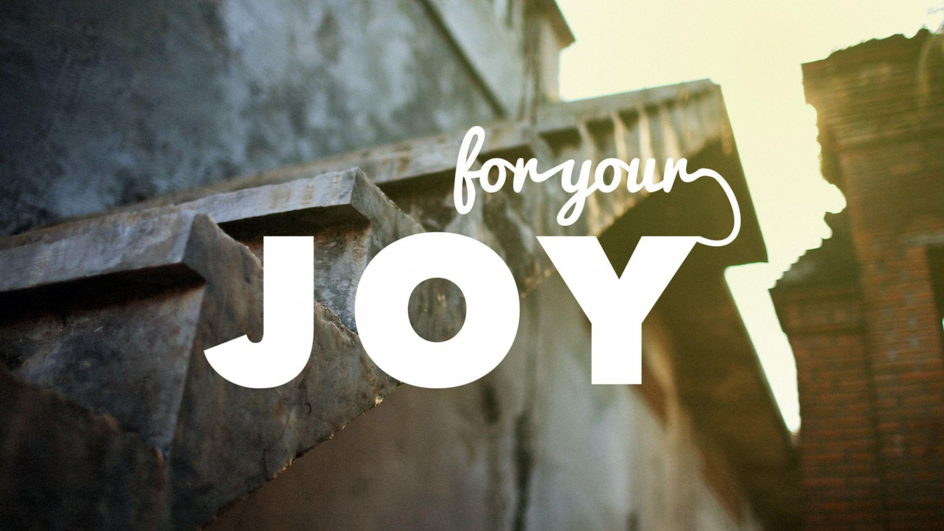 Teaching artwork for For Your Joy