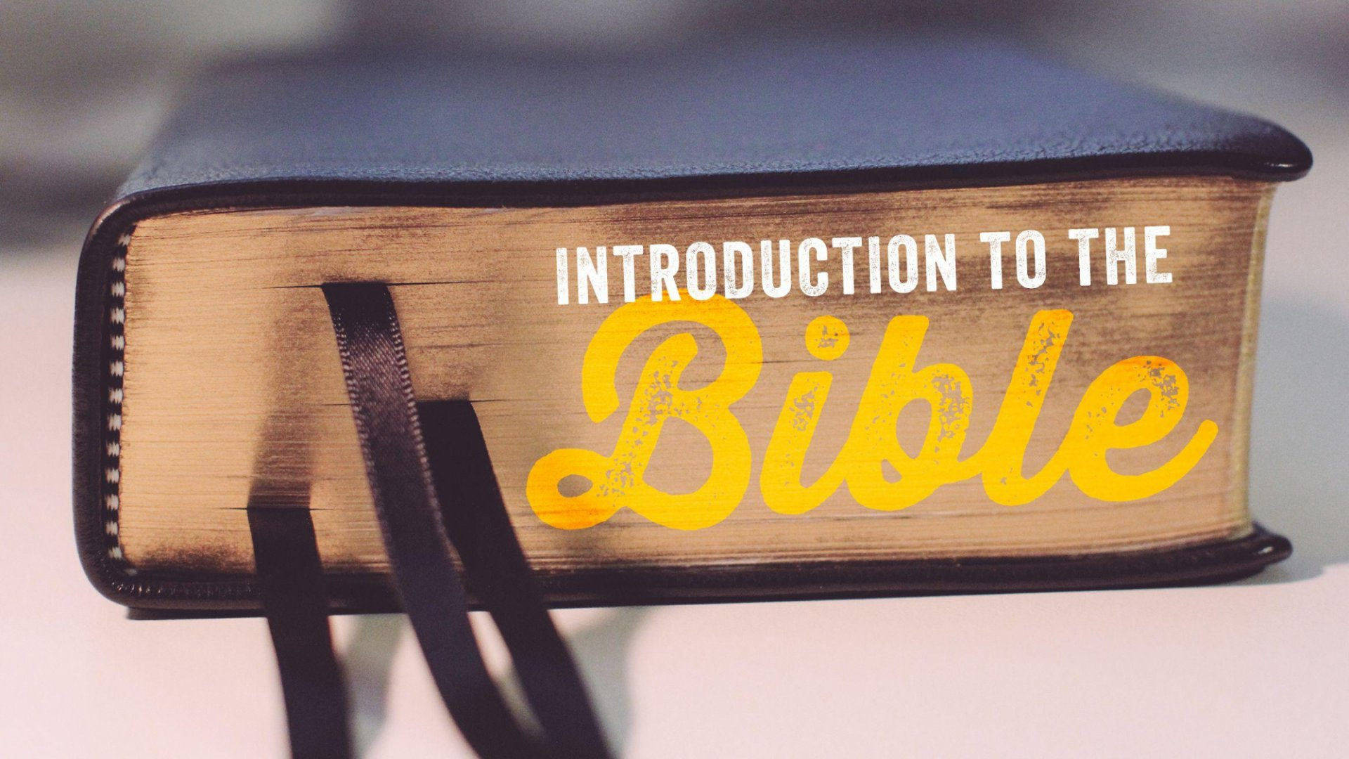 Teaching artwork for Introduction to the Bible
