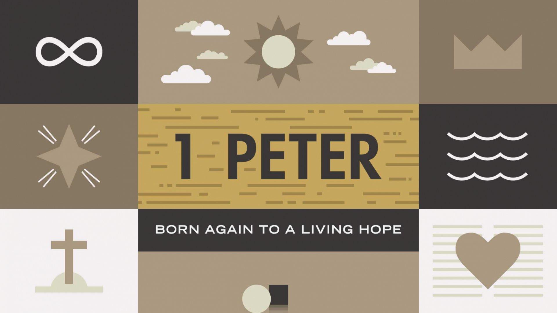Teaching artwork for 1 Peter