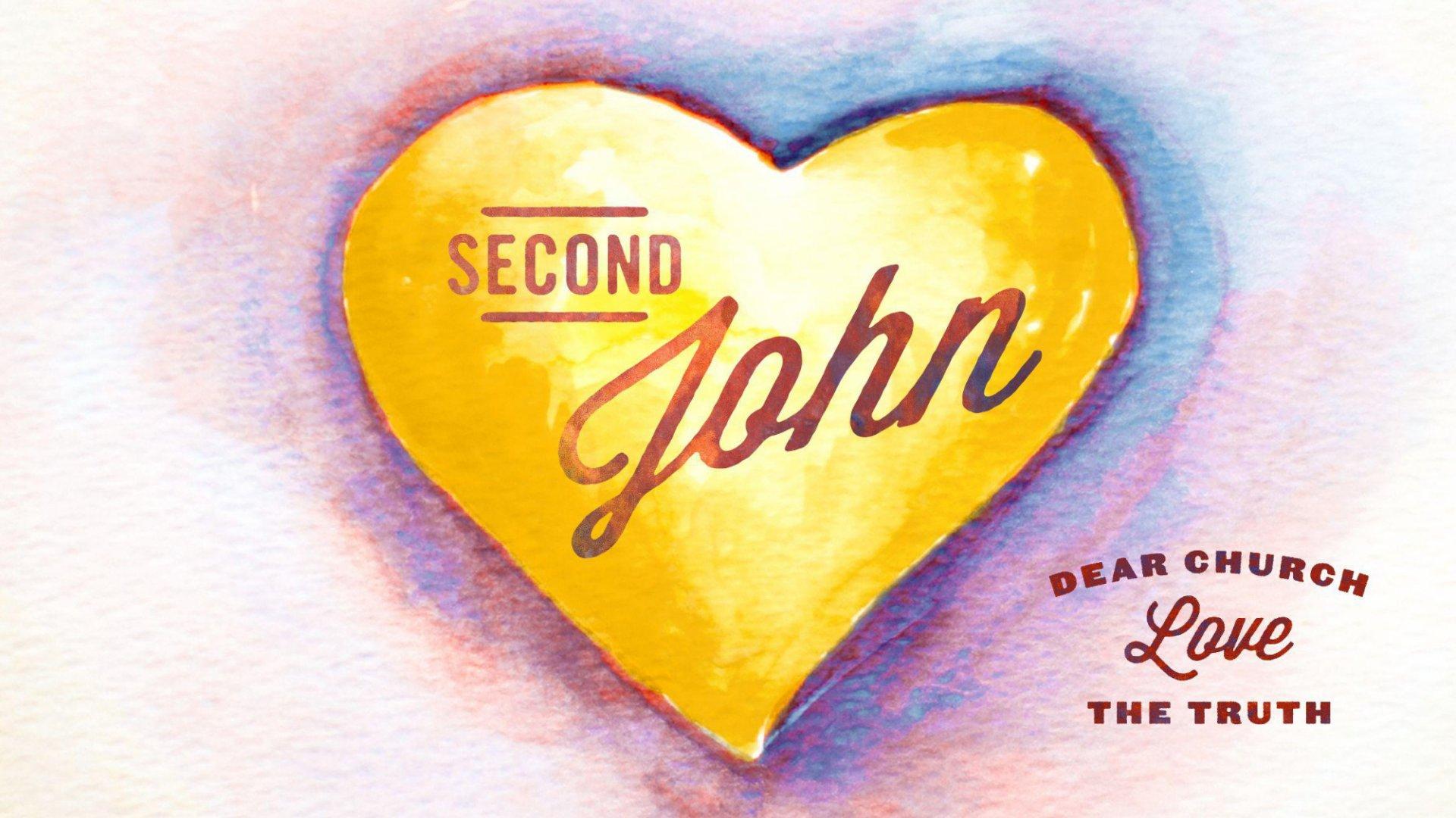 Teaching artwork for 2 John