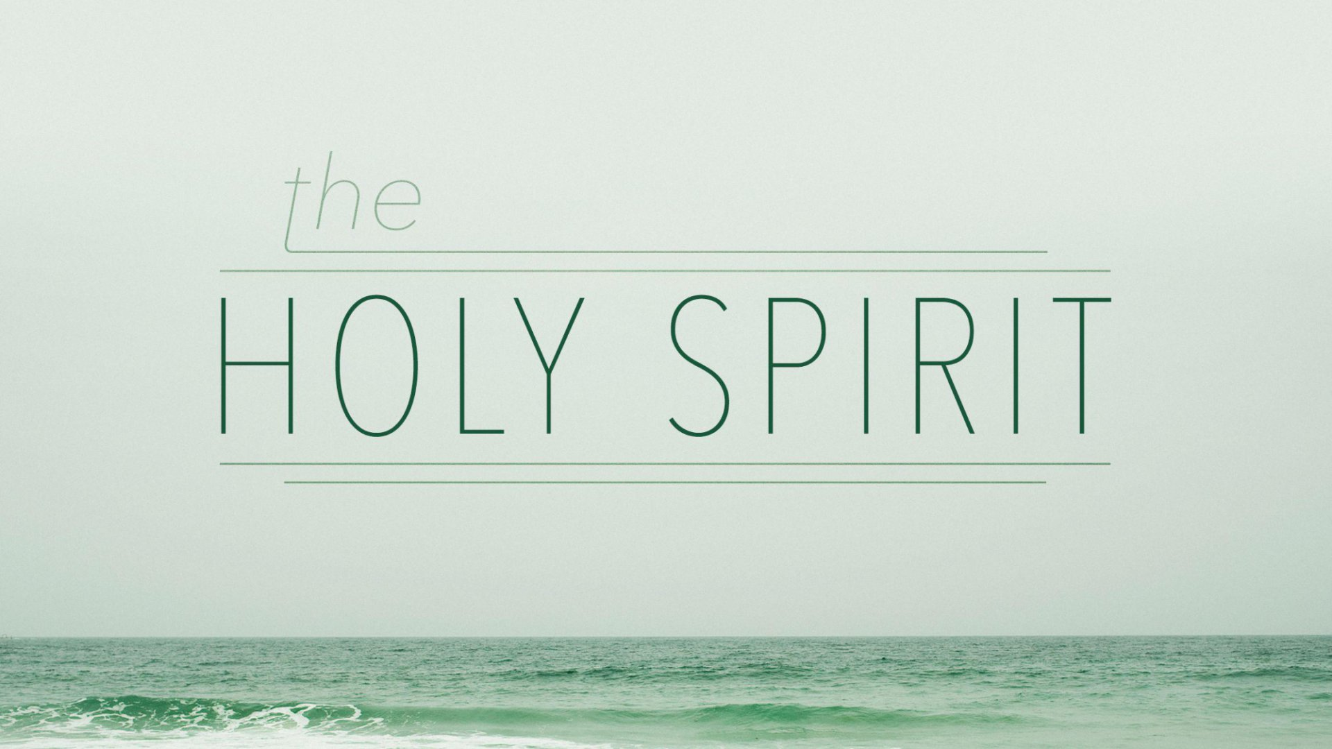 Teaching artwork for The Holy Spirit