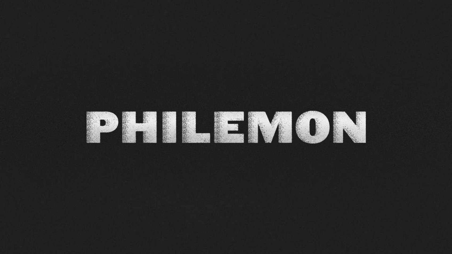 Teaching artwork for Philemon