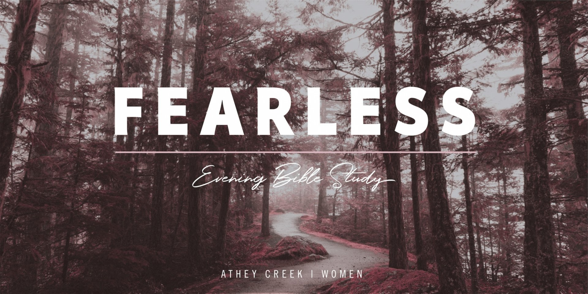 Poster forFearless | Stories of God's Faithfulness