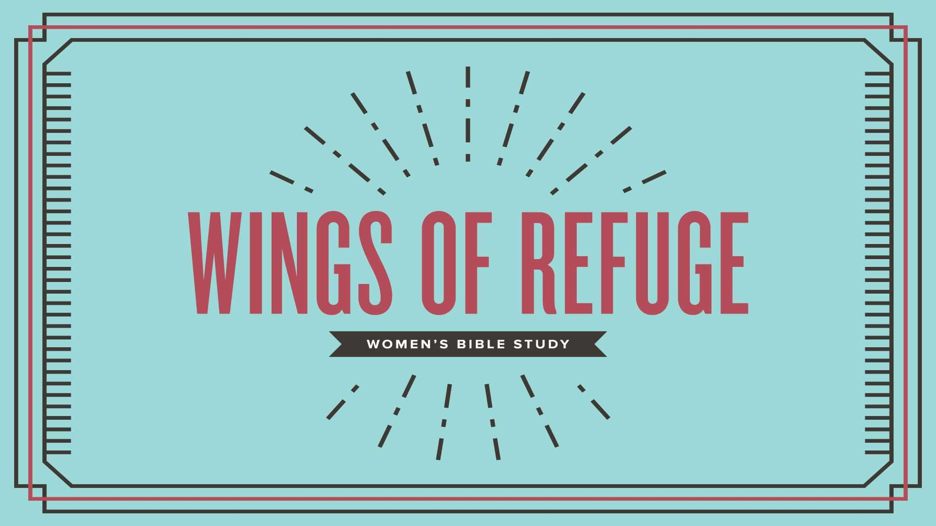 Poster forWings of Refuge - An Overview of Ruth