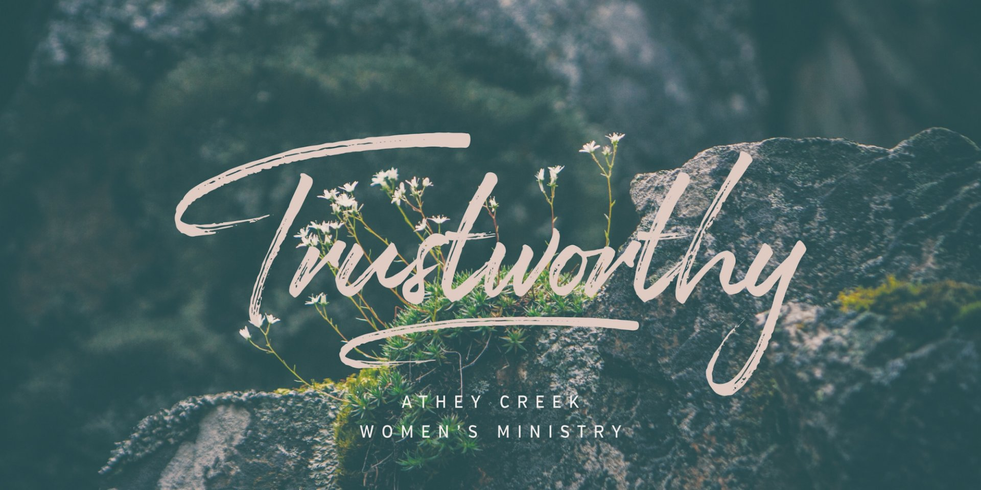 Poster forTrustworthy | Our Good Shepherd - Week One