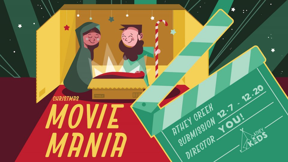Poster forChristmas Movie Mania
