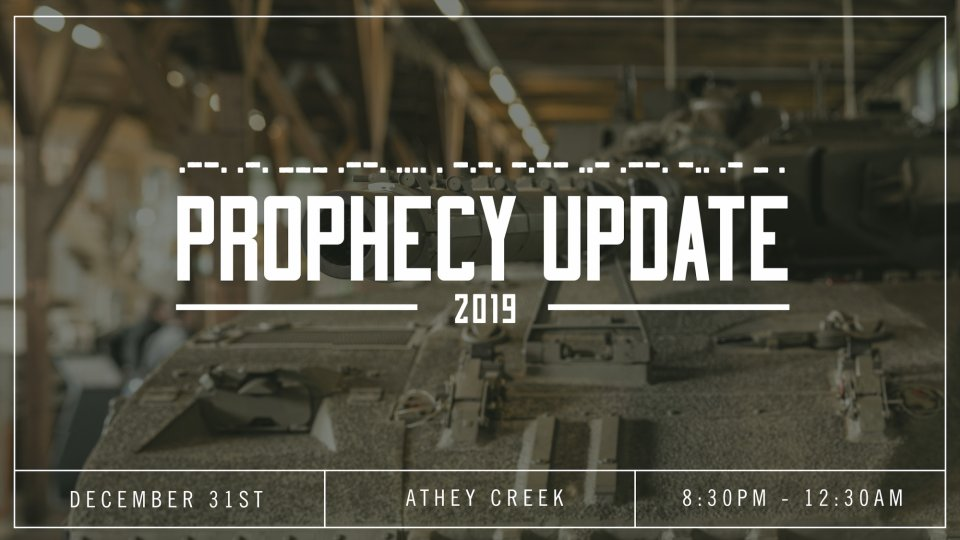 Poster forProphecy Update
