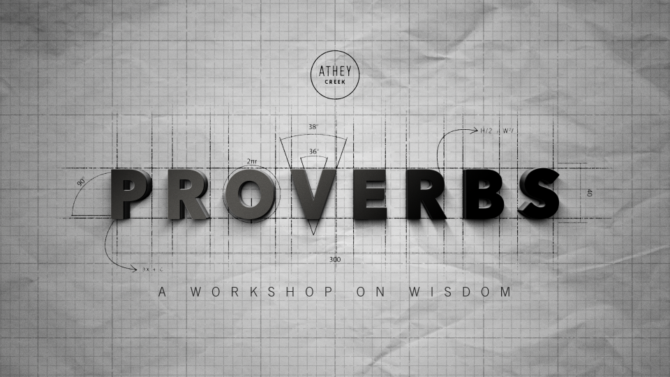 Teaching artwork for Through the Bible (Proverbs 15-16)