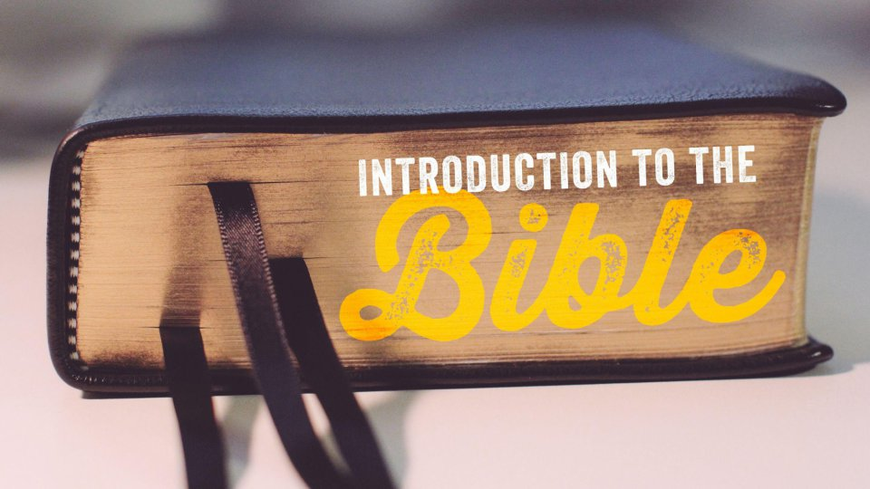 Poster for Introduction to the Bible