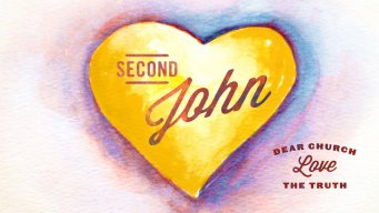 Teaching artwork for Through the Bible (2 John )